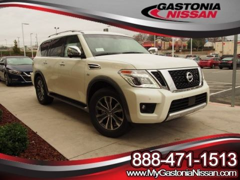 New 2017 Nissan Armada SL With Navigation & AWD